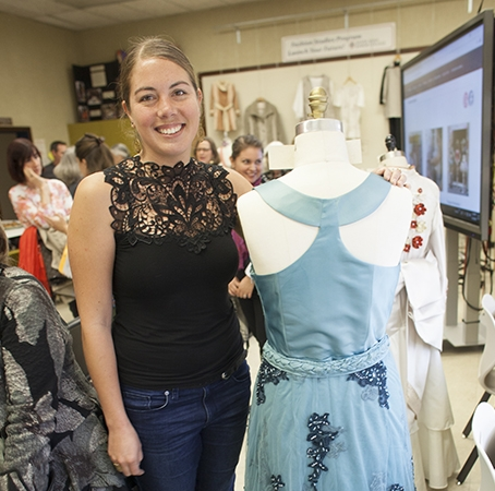 Fashion Studies displays her dress design